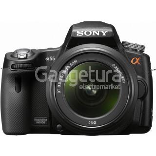 Фотоаппарат Sony Alpha SLT-A55VL Kit 18-55mm