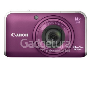 Фотоаппарат Canon PowerShot SX210 IS Purple