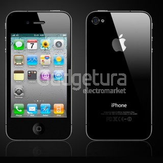 Телефон Apple iPhone 4 16Gb, черный