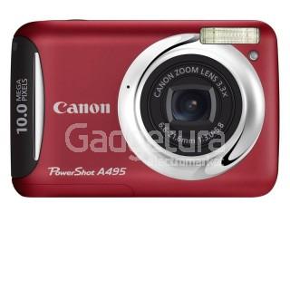 Фотоаппарат Canon PowerShot A495 Red