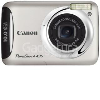 Фотоаппарат Canon PowerShot A495 Silver