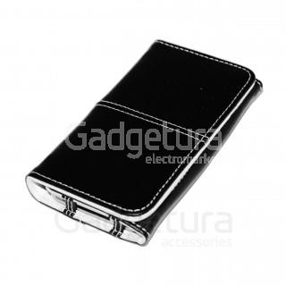 Чехол-книжка для iPhone 3G/3Gs - черный/белый