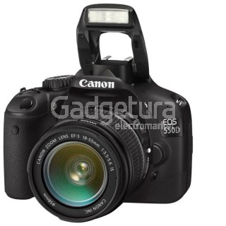 Фотоаппарат Canon EOS 550D Black kit (18-135 IS)