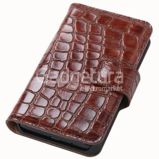 Чехол Naborsa книжка из крокодиловой кожи для Samsung Galaxy S II
