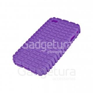 Cиликоновый чехол для iPhone 4 - фиолетовый