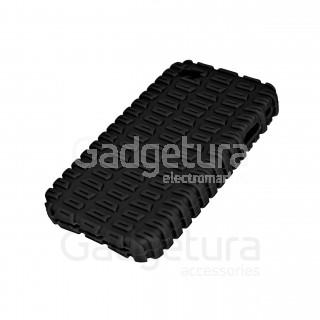 Cиликоновый чехол для iPhone 4 - черный