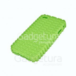Cиликоновый чехол для iPhone 4 - зеленый