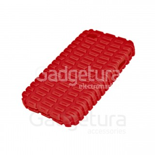 Cиликоновый чехол для iPhone 4 - красный