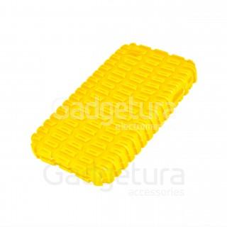 Cиликоновый чехол для iPhone 4 - желтый