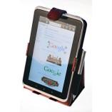 """Чехол подставка """"HTC Flyer Luxe Case"""" Бордовый Крокодиловая кожа"""