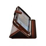 Чехол кейс подставка для HTC Flyer коричневый