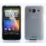 чехол силиконовый HTC HD A9191 белый