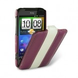 Чехол Melkco Incredible S S710e Purple/White LC