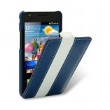 Чехол Melkco Galaxy S II Blue/White LC