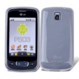 Чехол TPU LG Optimus One P500/ P503 белый