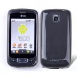 Чехол TPU LG Optimus One P500/ P503 серый