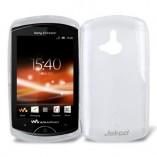 Чехол TPU Sony Ericsson Xperia Duo WT19i белый