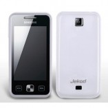 Чехол TPU Samsung C6712 Star II Duos белый