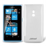 Чехол TPU Nokia Lumia 800 белый