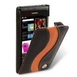 Чехол Melkco Leather Case Jacka Type Special Edition Black/Orange LC