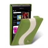 Чехол Melkco Leather Case Jacka Type Special Edition Green/White LC