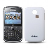 Накладка Jekod Samsung S3350 Chat белая