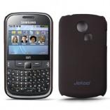 Накладка Jekod Samsung S3350 Chat коричневая