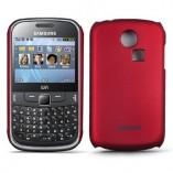 Накладка Jekod Samsung S3350 Chat красная