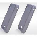 Чехол  TPU Samsung S5750/ S5250 серый