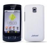 Накладка Jekod LG Optimus One P500 белая