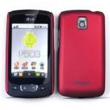 Накладка Jekod LG Optimus One P500 красная