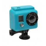 Большой силиконовый чехол GoPro (голубой) Xsories