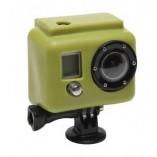 Большой силиконовый чехол GoPro (зеленый) Xsories