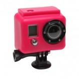 Большой силиконовый чехол GoPro (розовый) Xsories