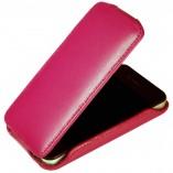Футляр-книга  Apple iPhone 4\4S розовая