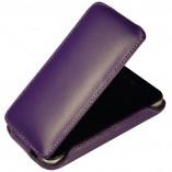 Футляр-книга  Apple iPhone 4\4S фиолетовая