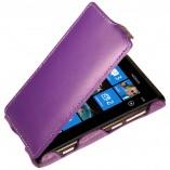 Футляр-книга  Nokia Lumia 800 фиолетовая
