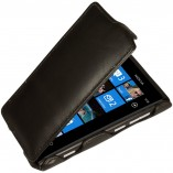 Футляр-книга  Nokia Lumia 800 черная
