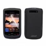 Чехол силиконовый TRU Jekod для BlackBerry Torch 9800 серый