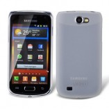 Чехол силиконовый TPU Jekod для Samsung i8150 Galaxy W белый