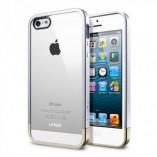 чехол sgp linear metal crystal для iphone 5 silver