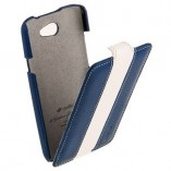 melkco для htc one x limited edition blue white