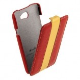 melkco для htc one x limited edition red yellow