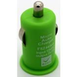 автомобильное зарядное устройство для iрhone 4 5 салатневый