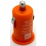 автомобильное зарядное устройство для iрhone 4 5 оранжевый