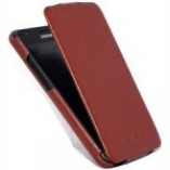 чехол книга samsung galaxy i9100 hoco leather case коричневый