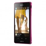 смартфон sony xperia tx розовый