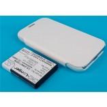 доп аккумулятор для samsung gt n7100 galaxy note 2 3800 mAh белый