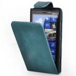 чехол обложка для nokia lumia 920 cover blue