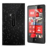 накладка для nokia lumia 920 черная капля 3d